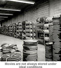 Film Negatives in Storage