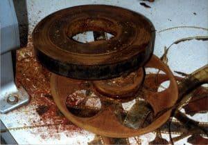 Nitrate Film Deterioration