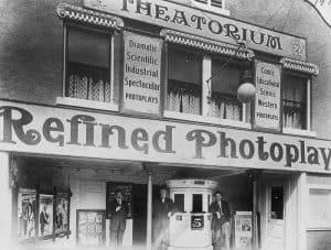 Theatorium Photoplay Marquee