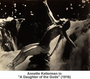 Annette Kellerman A Daughter of the Gods 1916