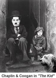 Charlie Chaplin Jackie Coogan The Kid 1921