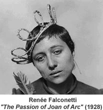 Renee Maria Falconetti 1928 Joan of Arc