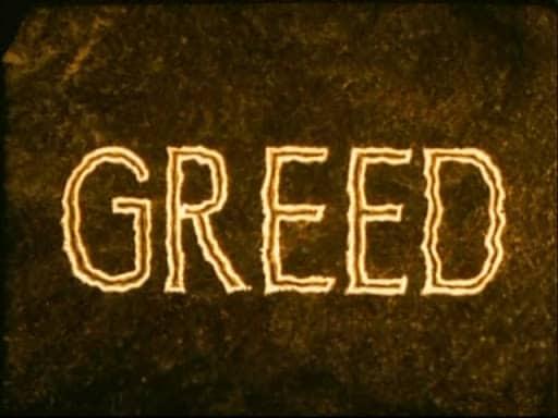 Greed Erich von Stroheim 1924