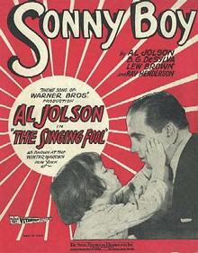 Sonny Boy Al Jolson The Singing Fool